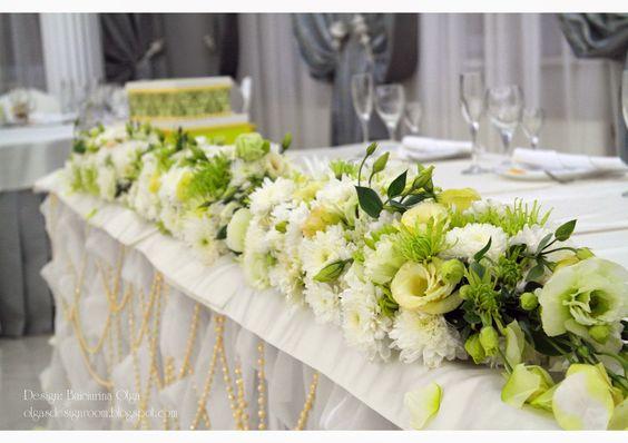 Baiciurina Olga's Design Room: Желто-зеленая свадьба-Green& Yellow wedding decoration