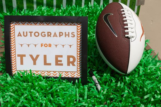 First Tailgate Party Football First Birthday Houston Party Lindsy Steinberg Events - lindsysteinberg.com Meredith Flaherty Photography