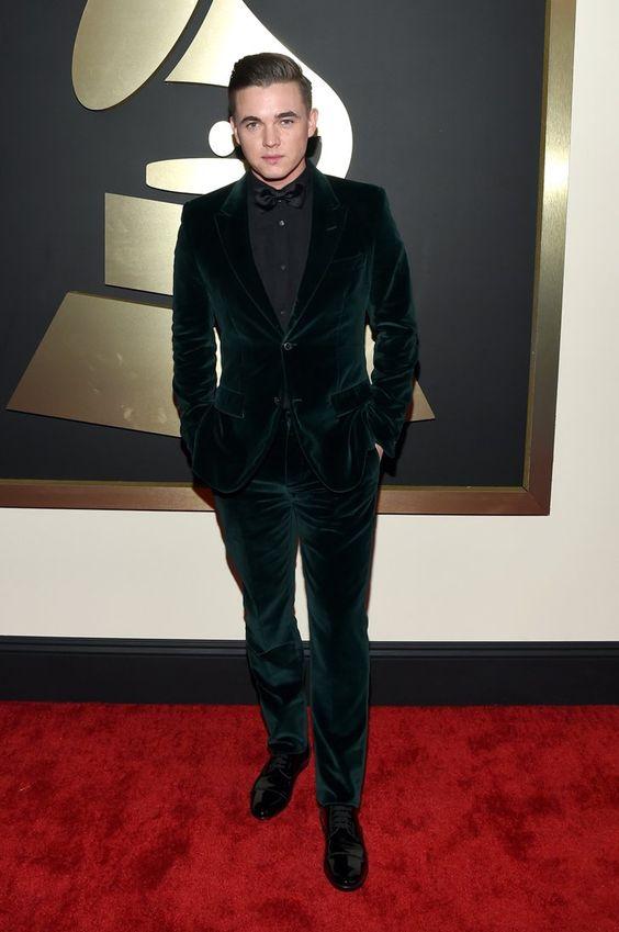 Pin for Later: Pour Voir Toutes Les Photos du Tapis Rouge des Grammy Awards, C'est Par Ici! Jesse McCartney