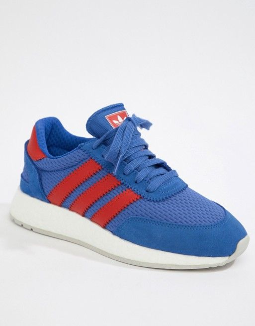préstamo Competencia Necesario  adidas Originals - I-5923 Sneakers In Blue And Red - $55.00 | Sneakers,  Stylish sneakers women, Red sneakers