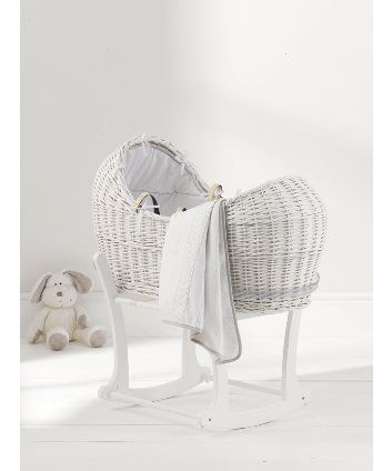Mothercare Pure Collection Moses Basket 99 uk