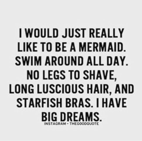 No to  big  Fin Fun Mermaids! Get your real swim-able mermaid tail at FInFunMermiad.com  and feel like a real mermaid. Let's go life some dreams! Lyla's Notes... | Rambling Rose Studio | Billie Moan