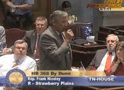Tennessee Legislator: Einstein Would Have Supported Creationism [VIDEO]