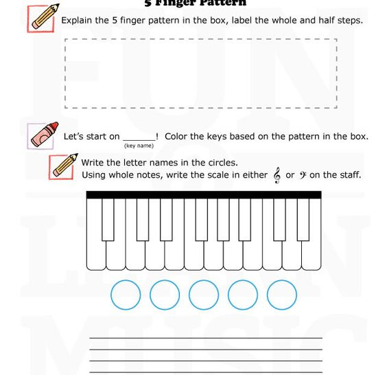 Printables General Music Worksheets music worksheets and 5 fingers on pinterest fun learn games for theory