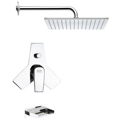 Remer by Nameek's Peleo Pressure Balance Tub and Shower Faucet