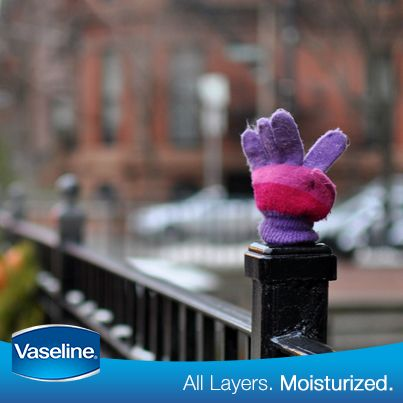 Slip on some cotton gloves right after you moisturize with #Vaseline to enhance your skin's ability to absorb moisture and not lose it to the external environment.