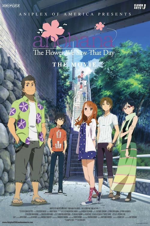 Watch Anohana The Flower We Saw That Day The Movie 2013