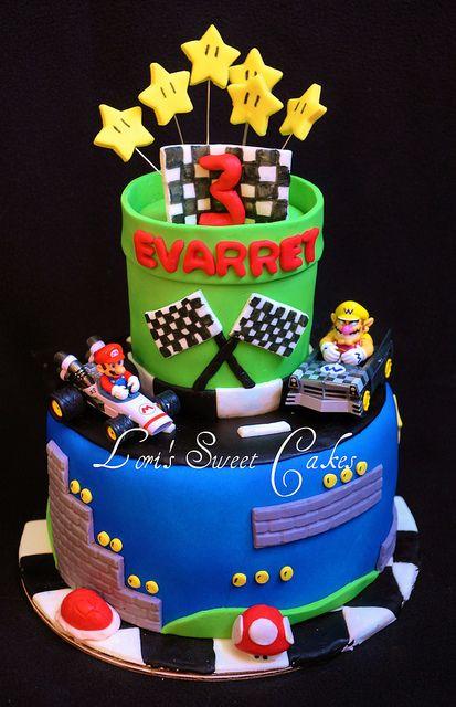 Mario Kart Cake by Lori's Sweet Cakes: