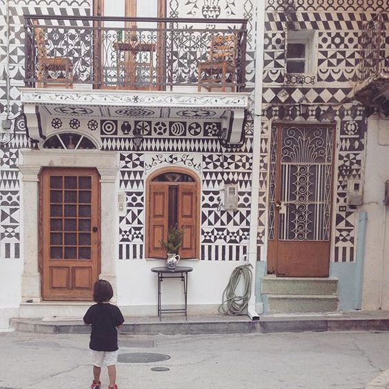 In awe of the history and beauty of this painted village. #Greece #TowerhouseTravel: