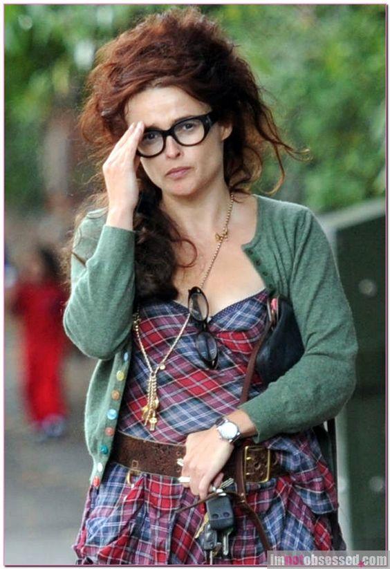 Helena Bonham Carter in London #actors #icons #fashion