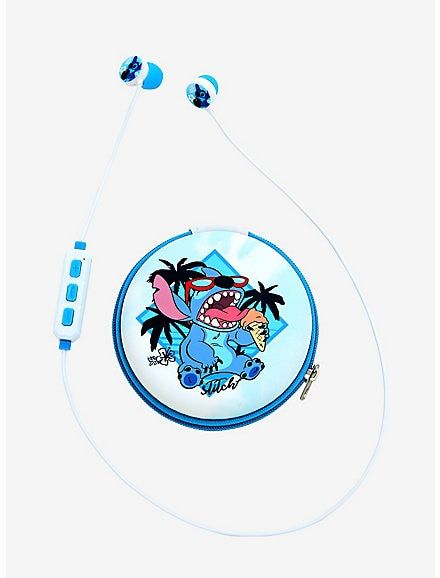 Disney Lilo Stitch Bluetooth Earbuds With Pouch Lilo And