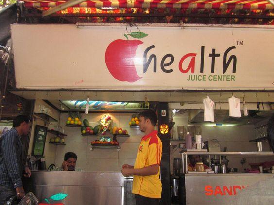 #Health juice centre in #MUmbai