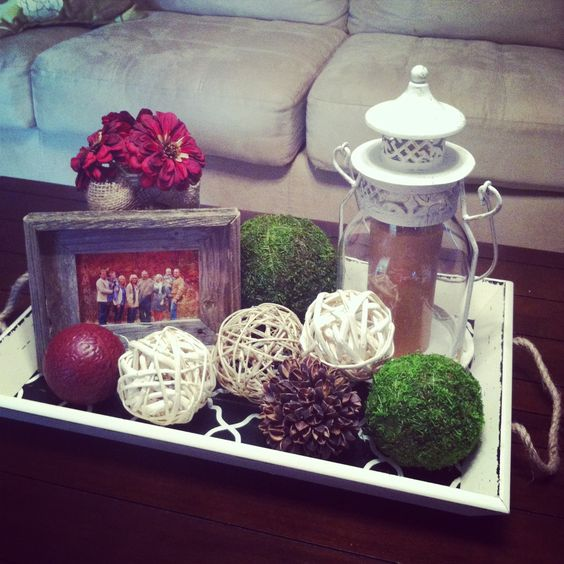 Decorate With Style 16 Chic Coffee Table Decor Ideas: Nice Quotes, Style And Frames On Pinterest
