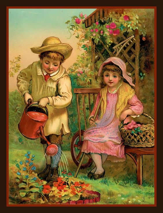 Children tending to the garden kimberlin gray inspiration pinterest children music for Tending to the garden