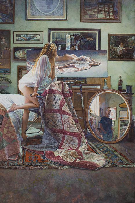 Steve Hanks Painting