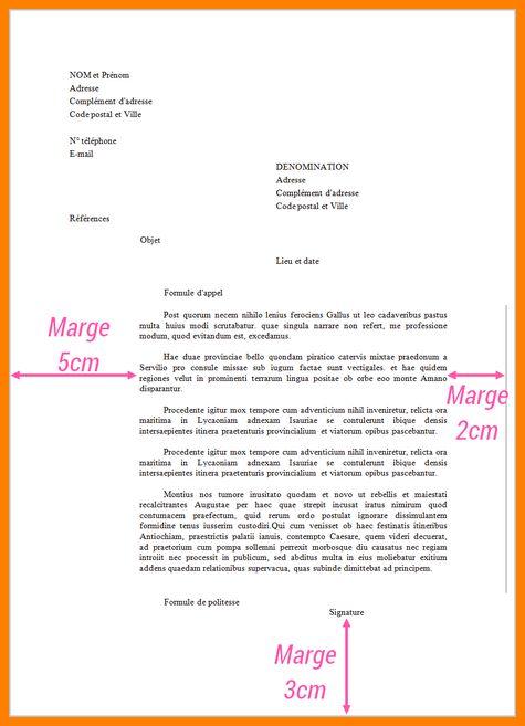 Comment ecrire une lettre administrative | Artere adour tigf