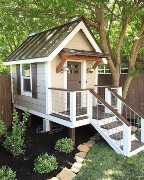 47 Incredible Backyard Storage Shed Design and Decor Ideas ... on