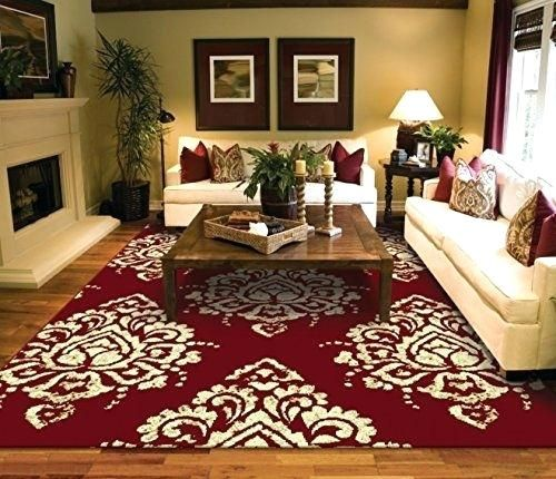 Outstanding 2x3 Kitchen Rug Pictures Good 2x3 Kitchen Rug For Luxury Burgundy Cream Rugs For Front D Red Living Room Decor Living Room Red Rugs In Living Room