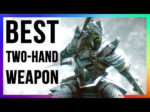 Skyrim Remastered Builds Best Two Handed Warrior Build No Crafting For Special Edition Console Youtube Skyrim Liar Elder Scrolls