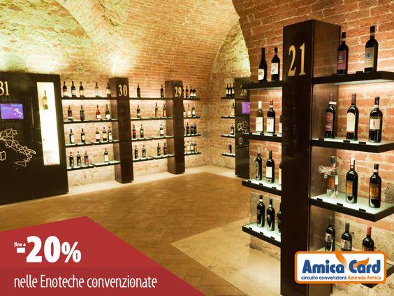 #Settembre è il mese della #vendemmia. Assapora un buon #vino presso una delle #enoteche convenzionate Amica Card, con sconti fino al 20%. Registrati ora e scarica gli #sconti su AmicaCard.it  #wineitaly #AmicaCard #convenzioni