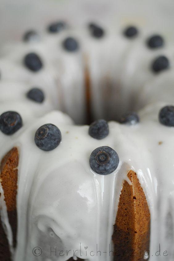 #Heidelbeer #Gugelhupf Blueberry bundt cake
