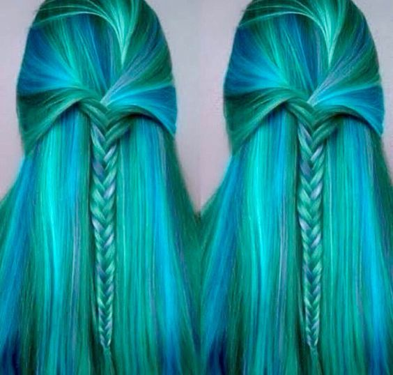 Mermaid hair !!!!