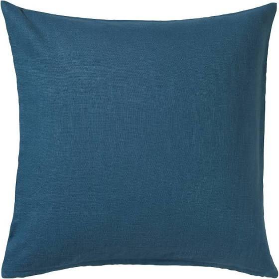 Ikea Vigdis Kissenbezug 50x50 Cm Blau Kissenbezuge