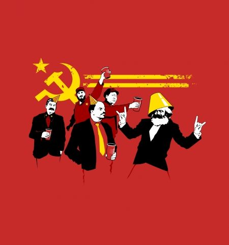 The Communist Party - BustedTees - Image 0