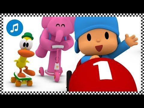 Canciones Infantiles De Pocoyo Ven A La Carrera Caricaturas Y Dibujos Animados Canciones Infantiles Canciones Para Bebes Canciones De Cuna Para Ninos