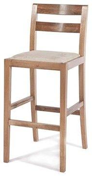 Big Sur Bar Stool, Natural Walnut - contemporary - bar stools and ...