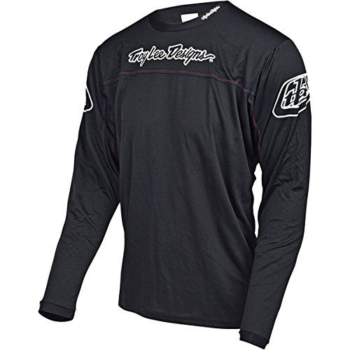 Troy Lee Designs 2018 Bike Sprint Jersey Black Youth All Sizes
