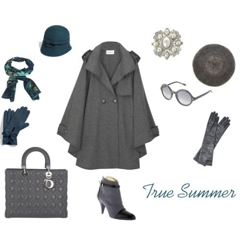 True Summer Winter wardrobe