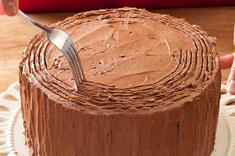 Black Forest Yule Stump Cake | Recipe | Tree Stump Cake, Tree Stumps ...