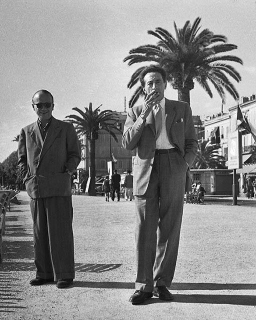 deep space daguerreotype  Serge de Sazo - Cannes Film Festival, 1946 - Jean Cocteau