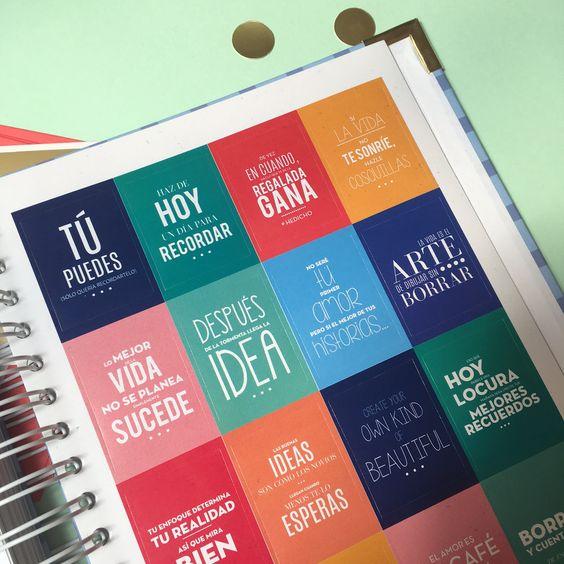 Agenda Puntos Suspensivos Stickers