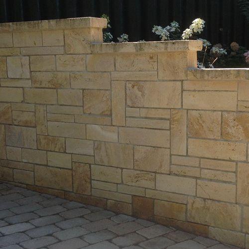 Garten Terrasse Aussengestaltung Mauer Verkleiden Gestalten Steinmauer Garten Natursteine Garten Garten