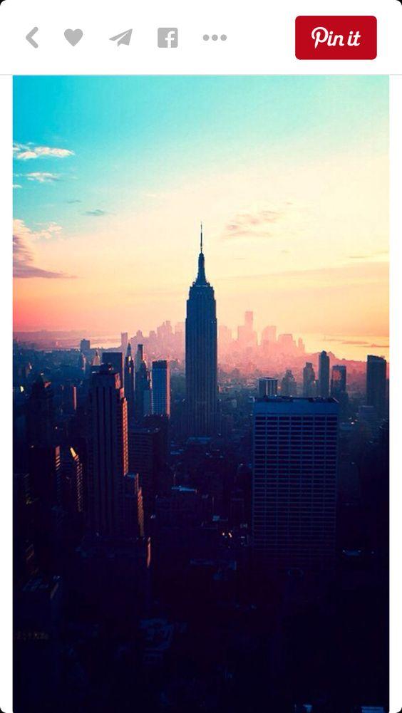 Love this beautiful photo of New York ❤️