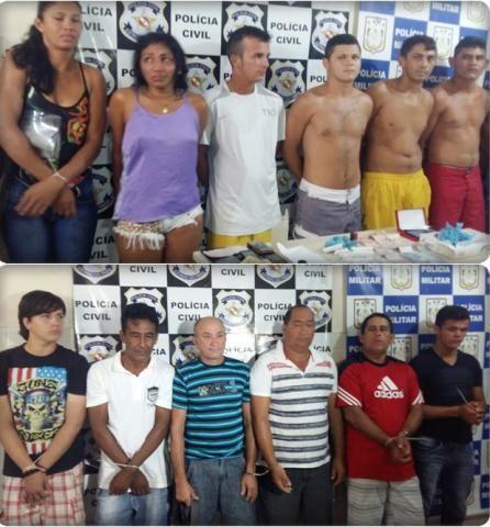 POLÍCIA DO PARÁ                                 Ao Alcance de Todos!: POLÍCIA CIVIL PRENDE 14 POR TRÁFICO DE DROGAS DURA...