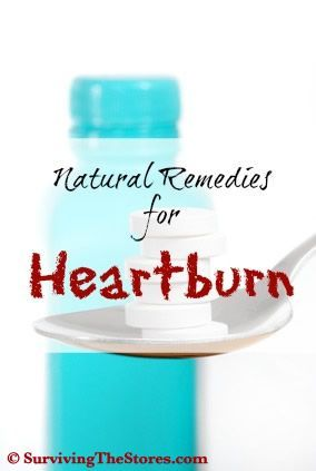 Several home remedies to help get rid of heartburn!