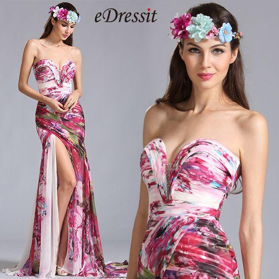 جمال المرأة: فساتين الأزهار الأنيقة للصيف