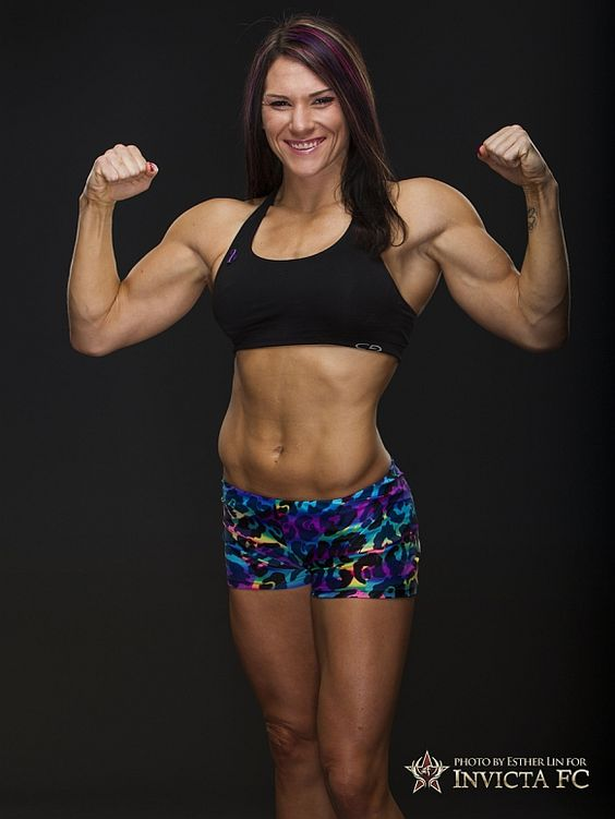 This is Cat Zingano who Miesha Tate will be facing at The Ultimate Fighter 17 Finale on April 13th in Las Vegas. I think Miesha can rule out using an armbar! #mma #femalemma