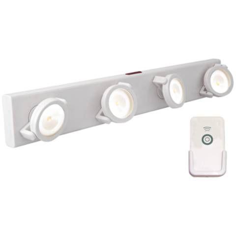 Led Battery Powered White Light Bar With Remote 2f972 Lamps Plus Bar Lighting Battery Powered Led Lights Led Track Lighting