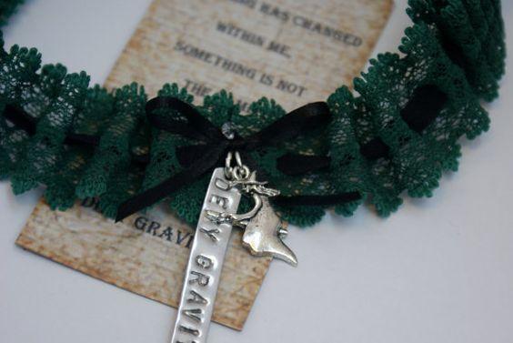 I feel Wicked garter by BethanyMJewellery on Etsy, £15.00