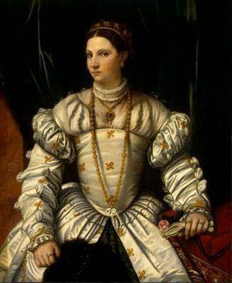 Moretto da Brescia, 1540: Portrait of a Lady  Washington, National Gallery of Art