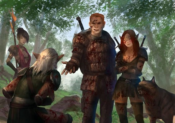 HOLY SHIT DRAGON AGE, sagasketchbook:   Alistair: -I don't know why we...