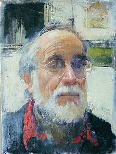 Burton Silverman self-portrait: