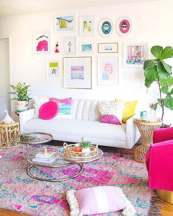 Undoubtedly Elegant Pink Living Room Ideas That Will Stun You | DecorTrendy.com