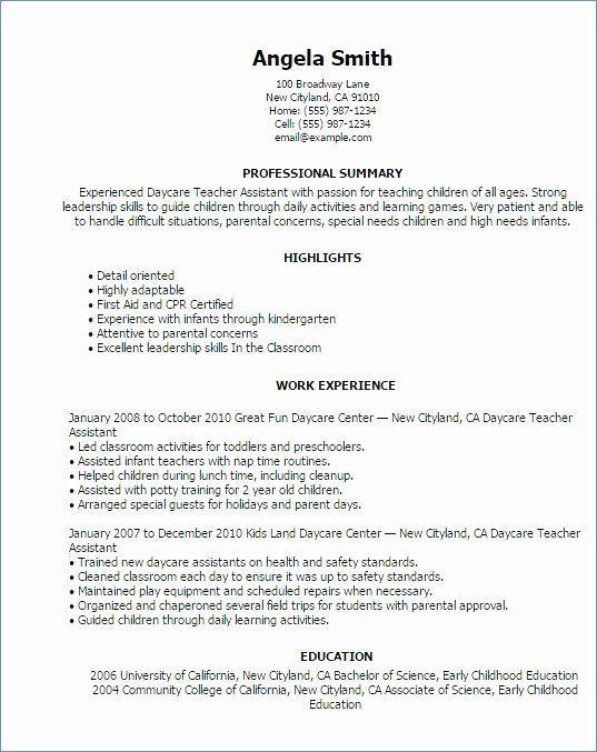 26 Preschool Teacher Assistant Job Description Resume Cover Letter Templates Teacher Resume Examples Education Resume Teacher Assistant