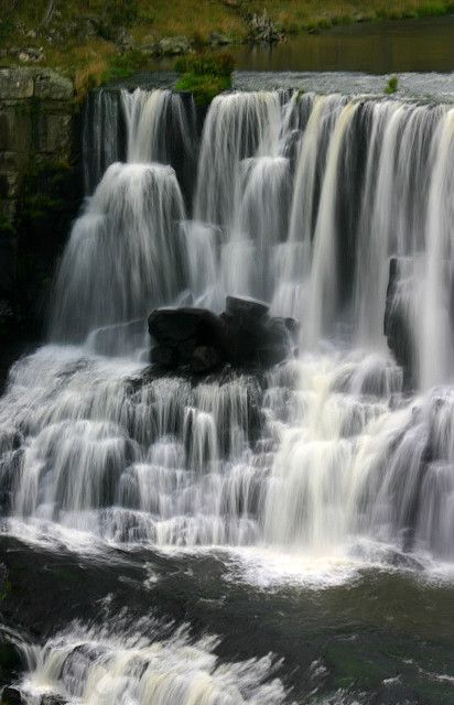 Ebor falls in Guy Fawkes National Park, NSW Australia
