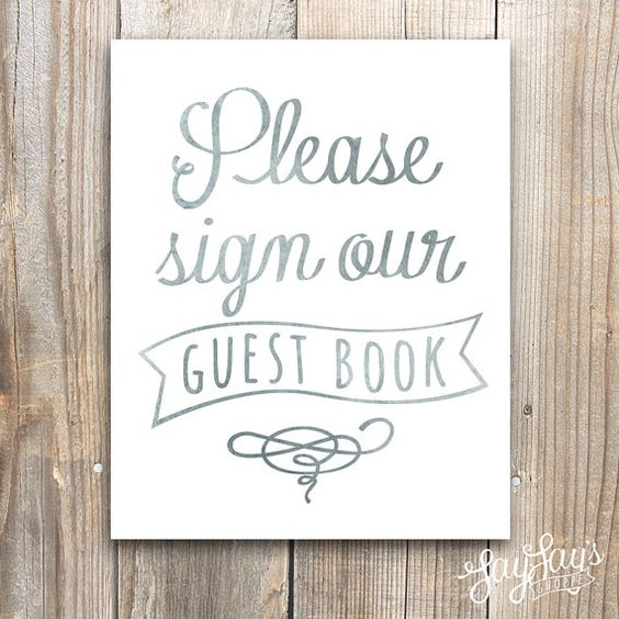 Wedding Guest Book Sign, Watercolor Wall Art Print, 5x7, 8x10, Reception Decor, Typography, Sign Our Guest Book, Bride, Archival Print